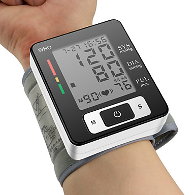 Buy CK®Ome Automatic Digital Wrist Cuff Blood Pressure Monitor Meter Pulse Sphygmomanometer LCD Display
