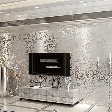 Contemporary 3d Wallpaper Art Deco Wall Covering PVC Paper Wall Art