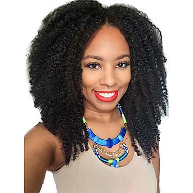 Buy Afro Kinky 2x4 U Part Wig Unprocessed Brazilian Curly Middle Upart Black Women