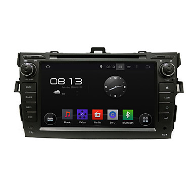 Buy Special Car DVD GPS Player Android 4.4 Touch Screen 8 Inch 800*480 Corolla 2006-2011