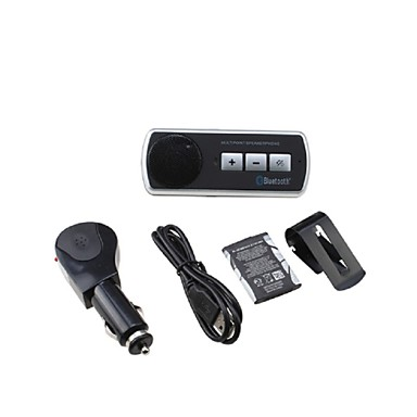 kit voiture mains libres bluetooth clips sur la voiture pare soleil bluetooth 3 0 peut. Black Bedroom Furniture Sets. Home Design Ideas