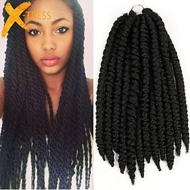 Crochet Hair Packages : Hair Twist Braids 1 Package #1 80g Crochet Havana Mambo Twists Hair ...