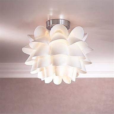 White flower ceiling light 1 light pendant living room - White lights for room ...