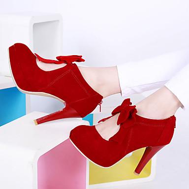 Buy Women's Shoes Heel Heels / Platform Outdoor Dress Casual Black Red Beige/B168