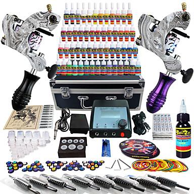 Solong tattoo complete tattoo kit 2 pro machine guns 54 for Tattoo gun kits for sale