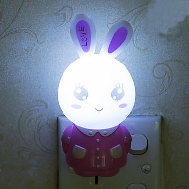 Bel coniglio luce intelligente di emergenza controllato condotto la luce di notte per la - Luci camera bambini ...