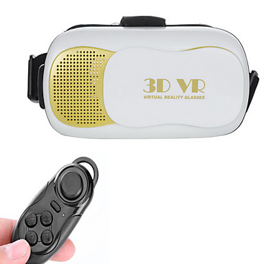 Buy VR BOX 3.0 Version Virtual Reality 3D Glasses + Bluetooth Controller