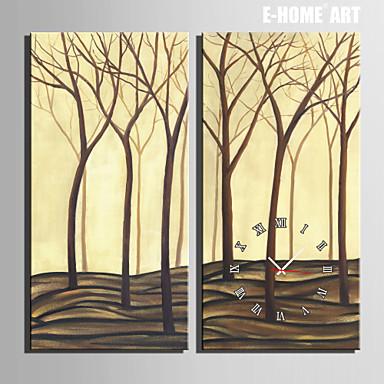 Buy E-HOME® Dead Trees Clock Canvas