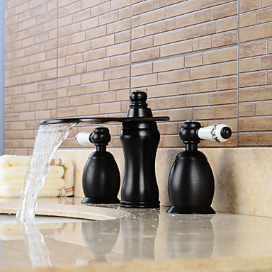 ... Three Holes for Oil-rubbed Bronze , Bathroom Sink Faucet 4880952 2017