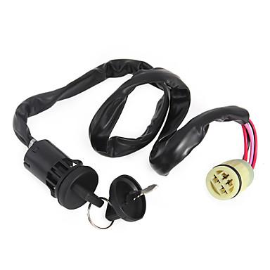 Buy Ignition Key Switch Atv Double Keys Honda Trx420Fe Rancher 420 Es 4X4