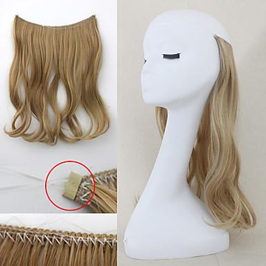 flip in secret hair extensions wavy hair string