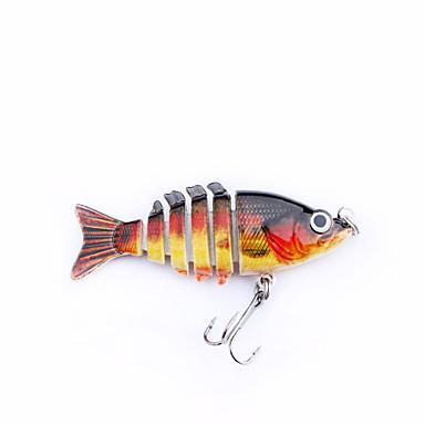 "mmlong 2"" fishing baits 6 segment life-like hard bait fishing, Hard Baits"
