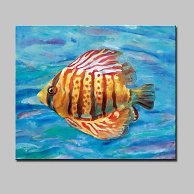 Handgeschilderde abstract dieren popmodern e n paneel canvas hang geschilderd - Hang een doek ...