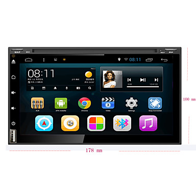 Buy Android 4.4.4 Car DVD Player GPS NISSAN Universal Quad-Core Contex A9 1.6GHz,Radio,RDS,BT,SWC,Wifi,3G