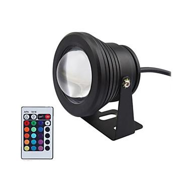 Black 10W Waterproof Outdoor RGB Light LED Underwater
