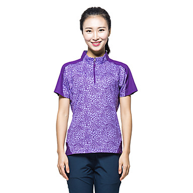 Buy KORAMAN Women's Summer Outdoor Short Sleeve T-shirt Quick-dry Unti-UV