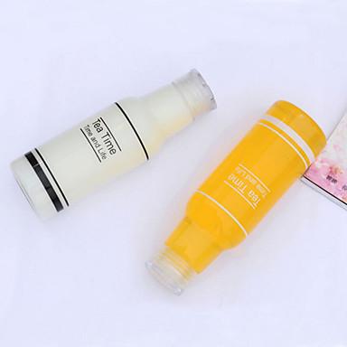 Buy 500mL Plastic Tea Time Bottles Leak-proof Cup Portable Water Bottle Outdoor Sport(Random Color)