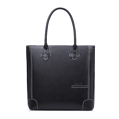 Buy NAWO Women Cowhide Tote Black - N113