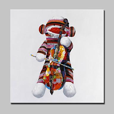 Handgeschilderde abstract dieren fantasie olie schilderijen modern e n paneel canvas hang - Hang een doek ...