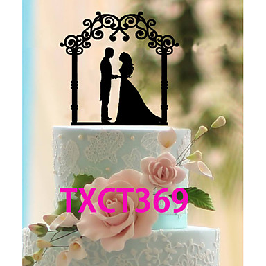 Cake Topper Personalized Classic Couple Lightinthebox
