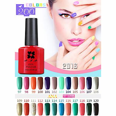 Buy ANA 192 Colors Gelpolish Nail Art Soak UV Gel Polish 10ml 97-100