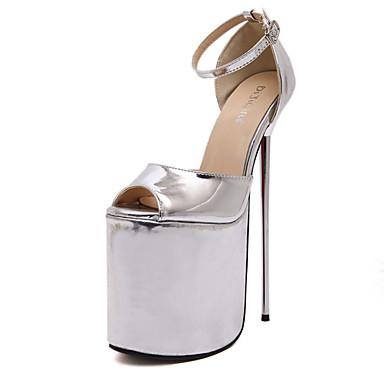 chaussures femme mariage habill soire evnement argent or talon aiguille talons a plateau nouveaut gladiateur escarpin free shipping - Escarpin Argent Mariage