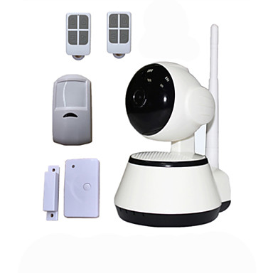 Buy PTZ 720P HD IP Camera P2P WIFI Combined Wireless Anti Theft Burglar Alarm System Security Home Alarme