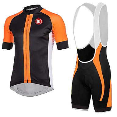 Buy KEIYUEM®Summer Cycling Jersey Short Sleeves + BIB Shorts Ropa Ciclismo Clothing Suits #K139