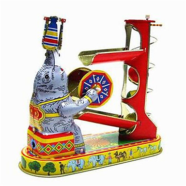 Novelty Lamp Crossword : Novelty Toy Puzzle Toy Wind-up Toy Novelty Toy Elephant Metal Red For Kids 5229046 2016 ? $24.99