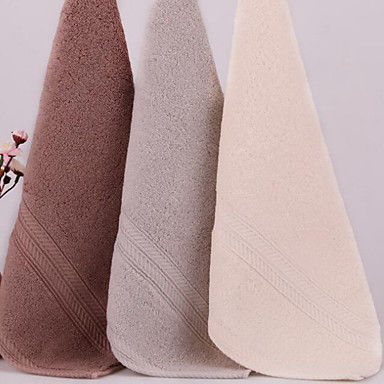 Pure Cotton Big Towel Jacquard Discontinuity Towel