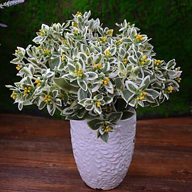 Buy Hi-Q 1Pc Decorative Flower Plants Wedding Home Table Decoration Artificial Flowers