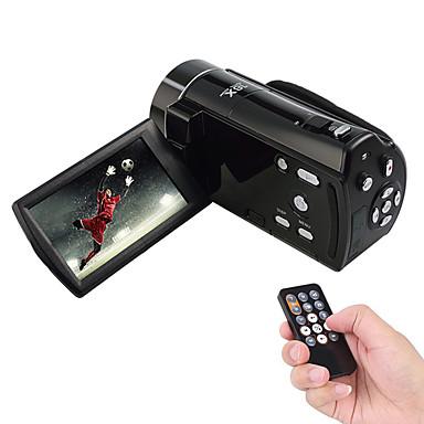 Camcorder 1080P / Smile Detection Black