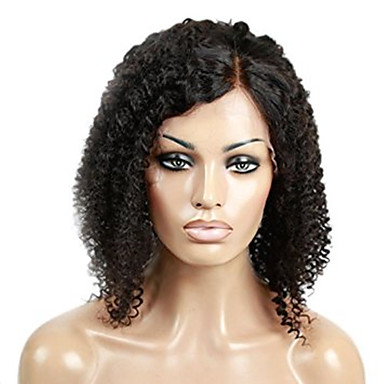 100 unprocessed brazilian virgin human hair wig black
