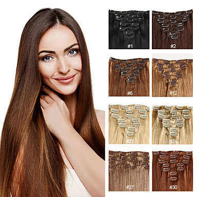 Buy Human Hair Extensions 70-120 16,18,20,22 Extension