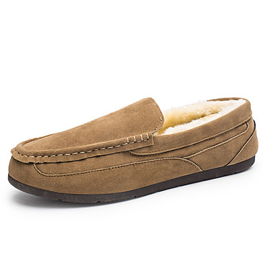 Men's Loafers & Slip-Ons Fall / Winter Comfort Casual Flat ...