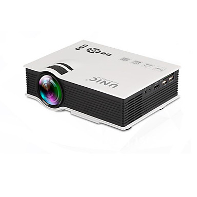 800 Lumen LCD Mini Projector with Native Resolution 800*600 Support 1080P