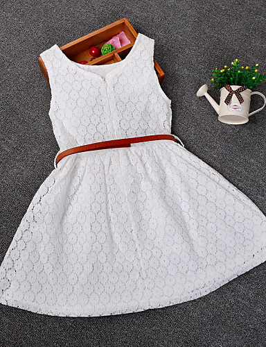 Buy Kid Grils Fashion Sleeveless Cosplay Dress Summer Style Girl Lace Dresses (Cotton/Blend) SZ 2-6 Y