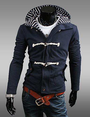 Buy Men's Long Sleeve Hoodie & Sweatshirt , Cotton Blend Pure