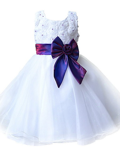 Buy Kids Girl Evening Dresses Pageant Dress Ball Gown Princess Wedding Party Toddler SZ 2-8 Y