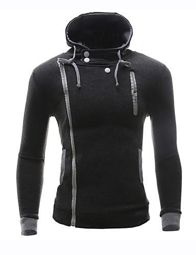 Buy 7 Colors M-6XL Plus Sizes Men's Fleece Tracksuits Hoodie & Sweatshirt, Solid Casual Sport Coat