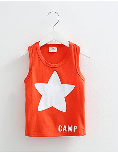 Buy Baby Tops Children Vest Boys Summer T Shirts Girls Tank 2016 Fashion Star Printed Toddler Tees T-Shirt Clothing