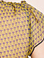 TS Chiffon Flower Print Blouse Shirt