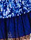 TS Dotted Mesh Flounced Dress