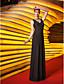 plášť / sloupec Bateau podlahy Délka večerní šaty dres (759806)