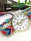 Mulheres Relógio de Moda Quartzo Tecido Banda # 5 # 6 # 7 # 8 # 9