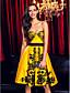 TS Couture® Spotkanie towarzyskie / Impreza firmowa Sukienka Krój A W kształcie serca Do kolan Koronka / Satyna z Koronka