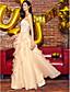 TS couture® формальный вечер / черный галстук гала-платье Онлайн возлюбленной пят кружева / органзы с кружевом / ярусов