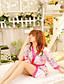 Kvinders Chemis og natkjoler / Uniformer og kinesiske kjoler Nattøj,SexyMedium Spandex Damer