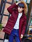 コート ロング ダウン メンズ,カジュアル/普段着 ソリッド ポリエステル 中綿なし-シンプル 長袖