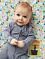 Baby Einzelteil Modisch Streifen Patchwork Baumwolle Frühling Herbst Lange Ärmel